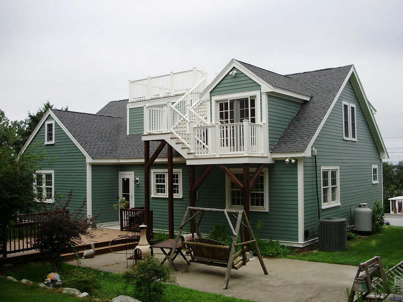 Second Story Addition With Roof Deck Fine Homebuilding