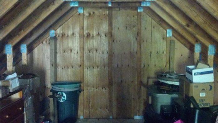 Framing A Door In A Gable End Truss Fine Homebuilding