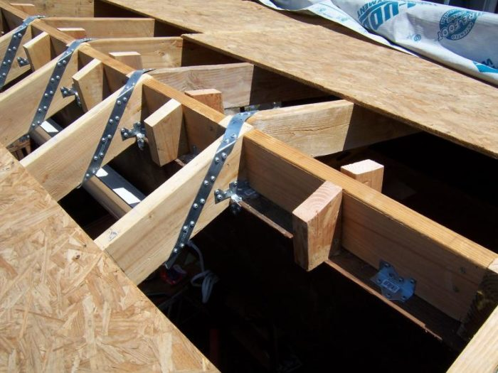 Angled Roof Joist Hangers Latest Rooftop Ideas