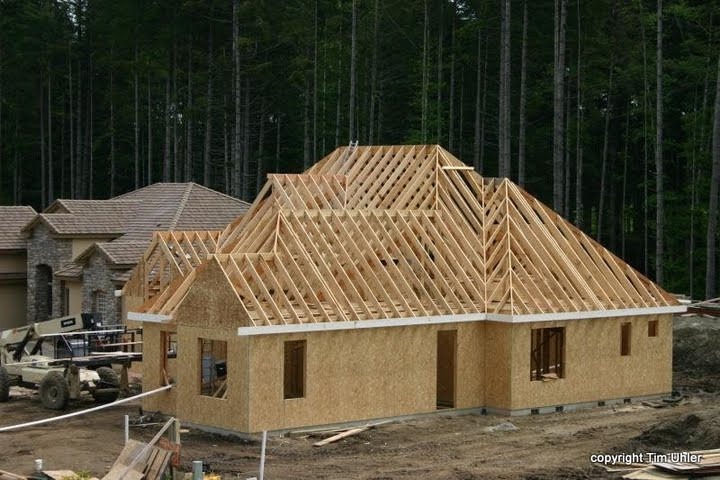 Muirkirk hand cut fine homebuilding for What is an a frame house