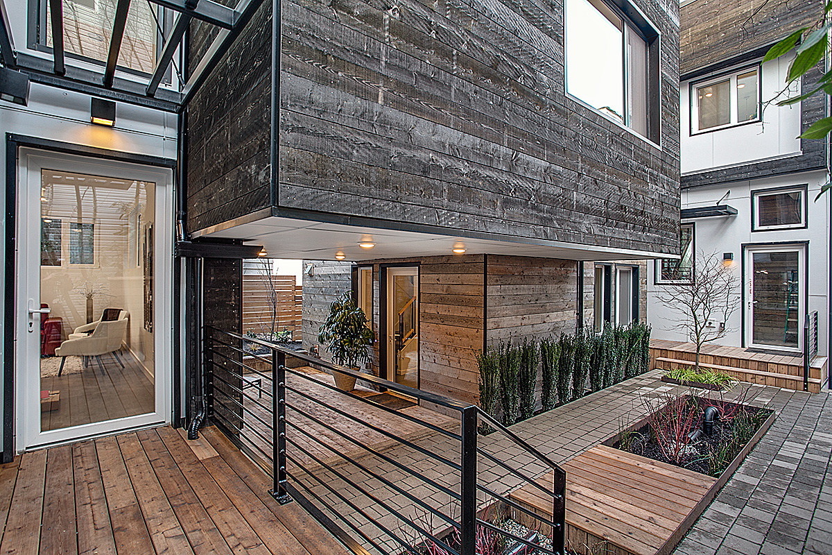 Seattle Gets a Passive-House Town House - Fine Homebuilding