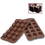 Photo of Silikomart Professional Monamour Silicone Chocolate Mold View 1