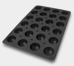 Photo of Silikomart Professional SQ Series Muffin Silicone Mold View 1