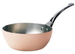 Photo of de Buyer Inocuivre Professional Conical Sauté Pan View 1