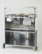 Photo of Krampouz Commercial Single Crepe Maker Cart View 2