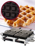 "Photo of Krampouz Commercial Waffle Maker - 4 x 7 Liège (240V) ""WECCHBAT"" View 1"