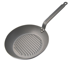 Photo of de Buyer Professional Carbone Plus Grill Fry Pan View 1