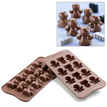 Photo of Silikomart Professional Mood Silicone Chocolate Mold View 1