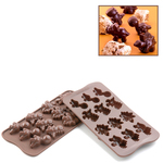 Photo of Silikomart Professional Dino Silicone Chocolate Mold View 1