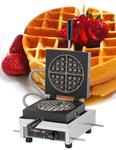 Photo of Krampouz Commercial Round Single Waffle Maker - WECCCCAS View 1