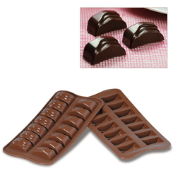 Photo of Silikomart Professional Jack Silicone Chocolate Mold View 1