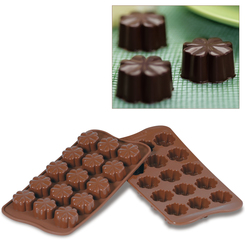Photo of Silikomart Professional Fleury Silicone Chocolate mold View 1