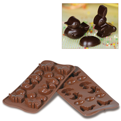 Photo of Silikomart Professional Easter Silicone Chocolate Mold View 1