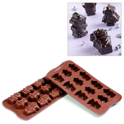 Photo of Silikomart Professional Robot Choc Silicone chocolate mold View 1