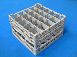 Photo of Lamber Glass Rack for Restaurant Commercial Dishwashers - CC00128 View 1
