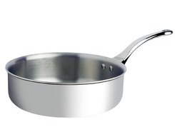 Photo of de Buyer Affinity Straight Sauté Pan View 1