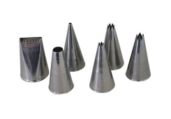 Photo of de Buyer Professional Set of 6 Pastry Nozzles View 1