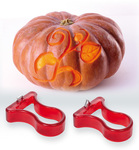 Photo of triangle Pumpkin Carver Set, 2 pieces View 1