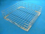 Photo of Lamber CC00090 | Stainless Steel Rack for Commercial Dishwashers View 1