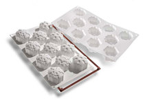 Photo of Silikomart Professional SF SERIES Snowflakes mold View 1