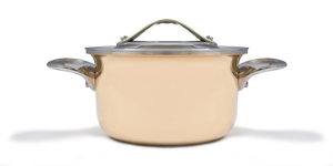 Photo of Eurodib Mini Copper Casserole with Lid View 1