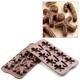 Photo of Silikomart Professional Mr. Ginger Silicone Chocolate Mold View 1