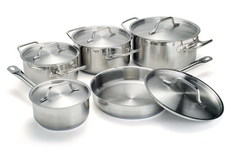 Photo of Homichef S/Steel Sauce Pans Set | 10 Units View 1