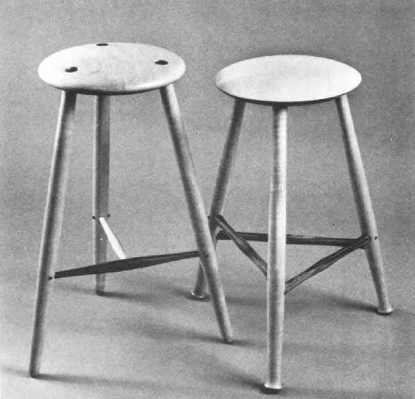 Miraculous The Three Legged Stool Finewoodworking Inzonedesignstudio Interior Chair Design Inzonedesignstudiocom