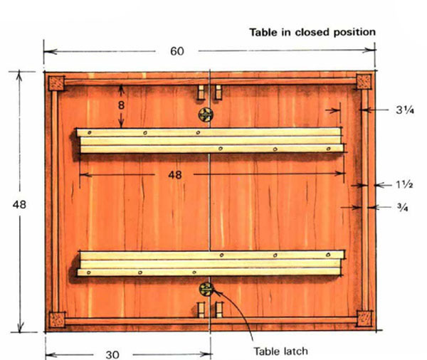 Extension Tables FineWoodworking - Expanding conference table