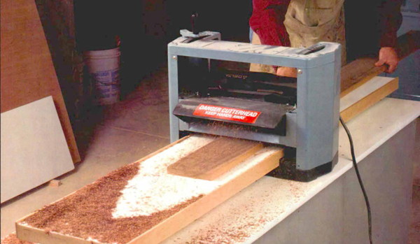 Infeed Outfeed Table For A Portable Planer Finewoodworking