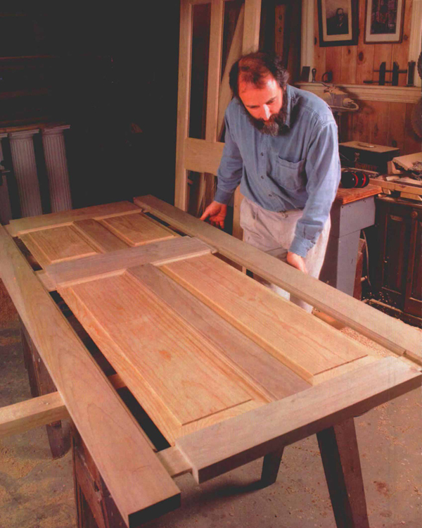 Synopsis Joseph Beals used mortise-and-tenon joinery to make doors for his own home because he could cut the joints in a number of ways that didnu0027t require ... & Making Full-Sized Doors - FineWoodworking