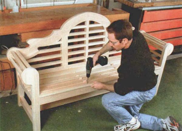 The Lutyens Garden Bench Finewoodworking