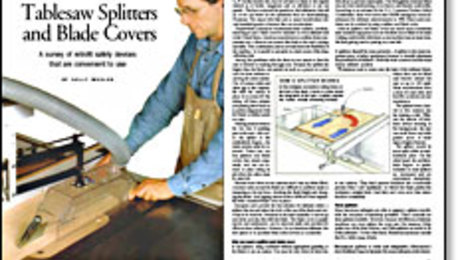 Awe Inspiring Tablesaw Splitters And Blade Covers Finewoodworking Download Free Architecture Designs Embacsunscenecom
