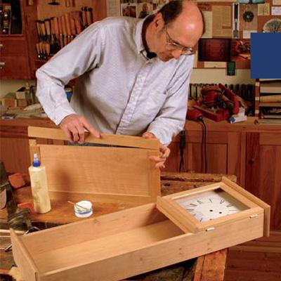 Building A Shaker Wall Clock Finewoodworking