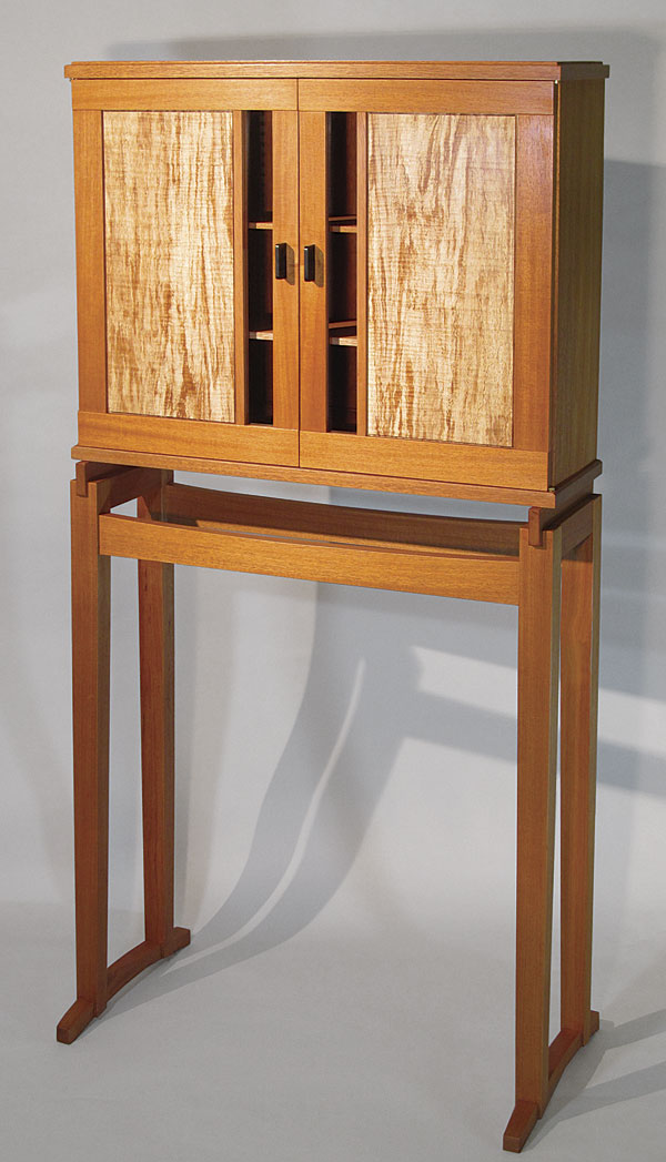 Krenovian Cabinet-on-Stand - FineWoodworking