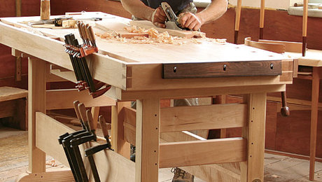 The Workbench Of A Lifetime Finewoodworking
