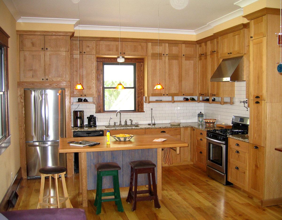 Formal Mission Kitchen Finewoodworking