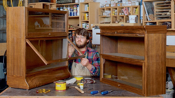 How To Build A Barrister S Bookcase Finewoodworking