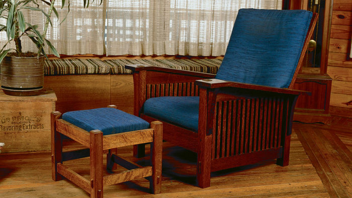 Craftsman Style Comfort In A Morris Chair Finewoodworking