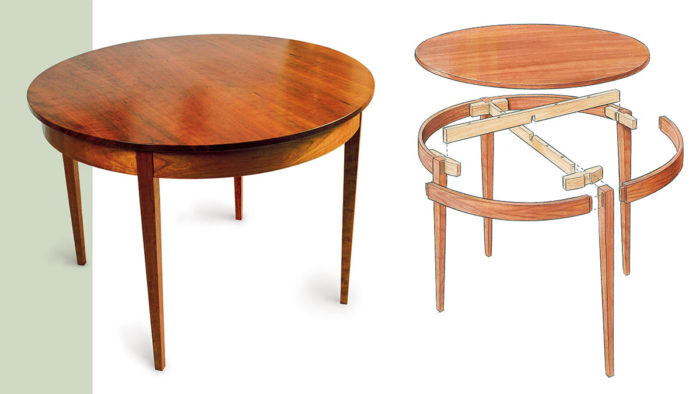 A Round Kitchen Classic - FineWoodworking