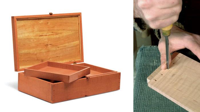 An Elegant Jewelry Box - FineWoodworking