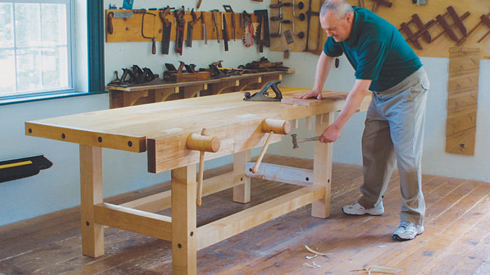 Tremendous Mike Dunbars Workbench Finewoodworking Pdpeps Interior Chair Design Pdpepsorg