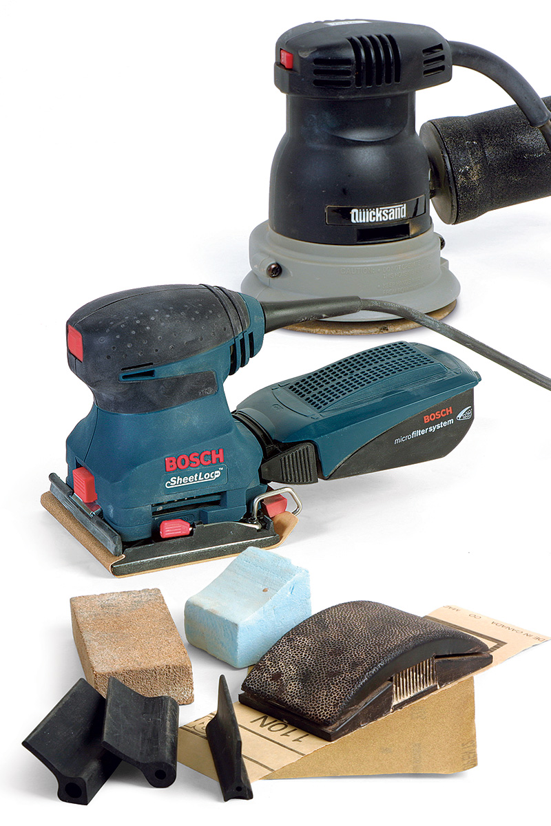 tools for sanding