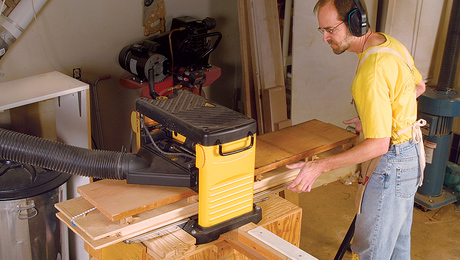 flatten boards without a jointer