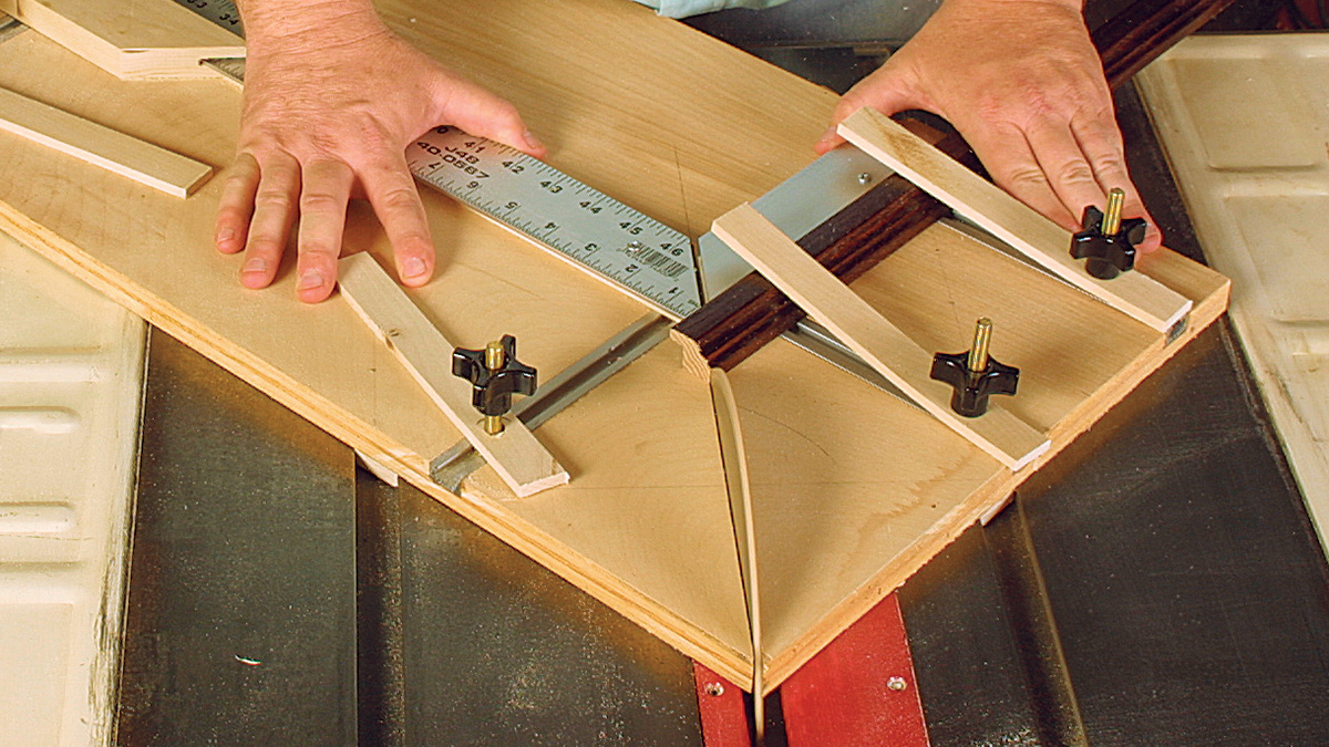 miter cut for picture frame