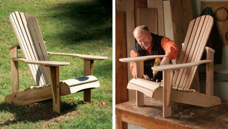 building an Adirondack chair