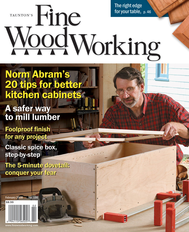 Kitchen Cabinet Tips from Norm Abram - FineWoodworking