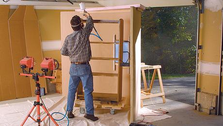 simple spray booth
