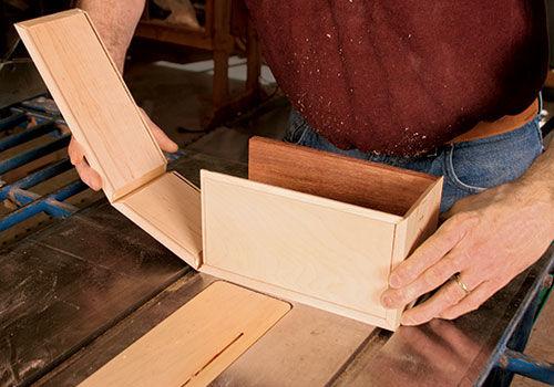 assembling box