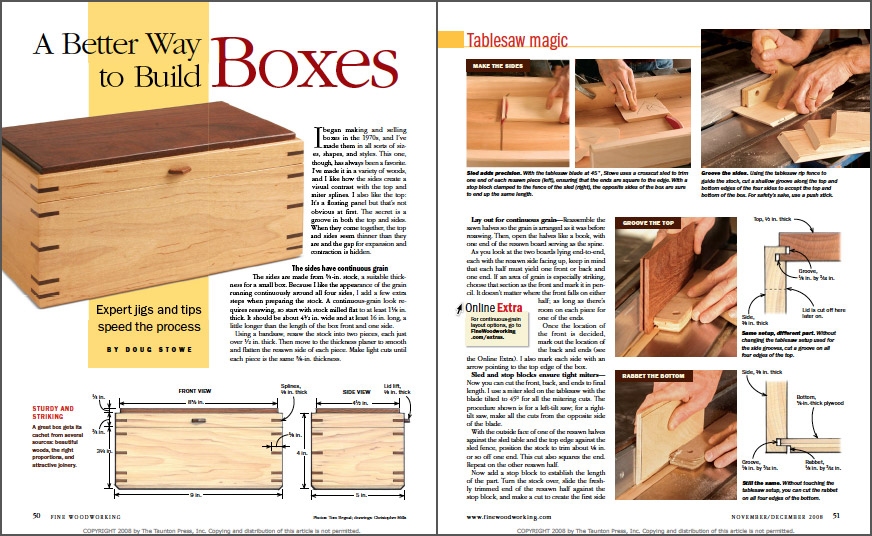 A Better Way to Build Boxes spread